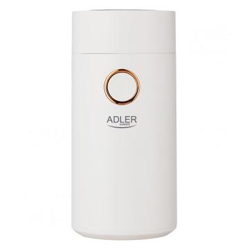 Adler AD4446wg kávédaráló fehér arany