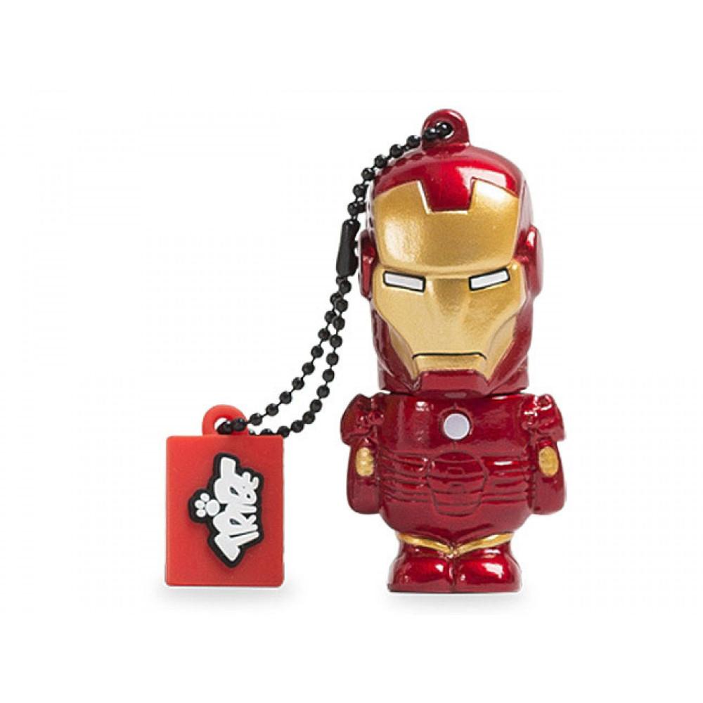 Tribe FD016504 Marvel Design Pendrive, Iron Man
