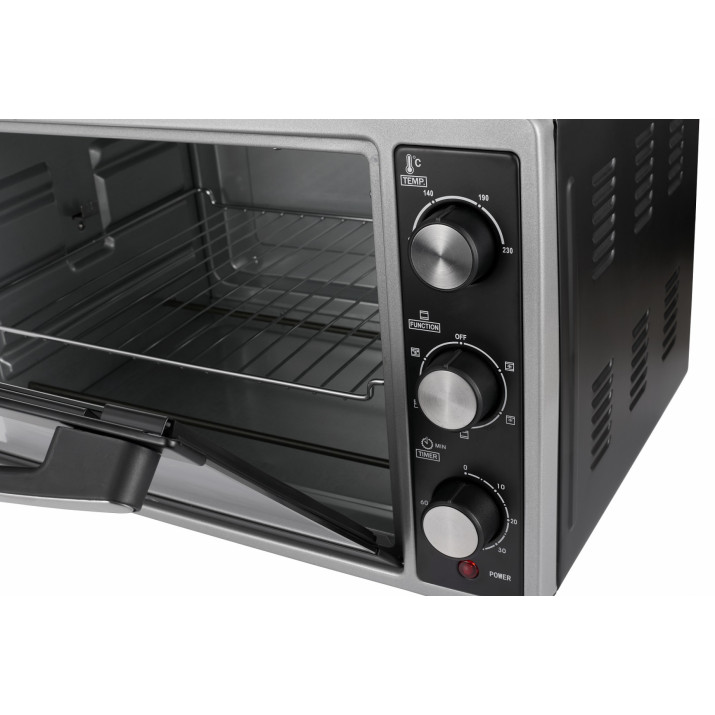 Camry CR6018 Elektromos sütő, 35L, 1500W, szürke