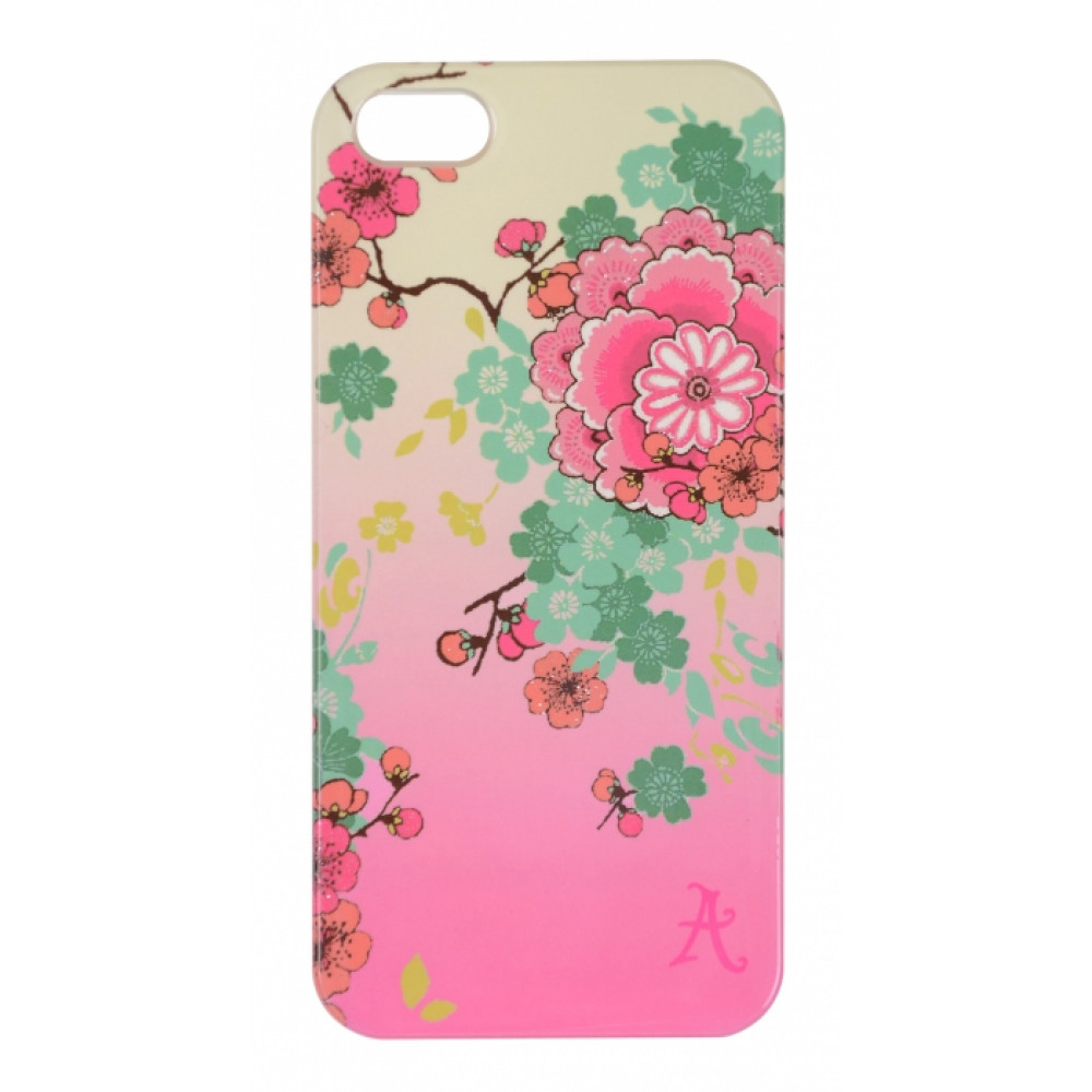 ACCESSORIZE iPhone 4/4S Védőtok, Pink Flower