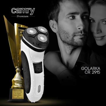 CAMRY CR2915 Körkéses Borotva, Precíziós Vágó, Fehér-Fekete