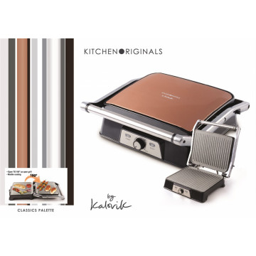 Kalorik COG1050CO Kontaktgrill, Copper Line