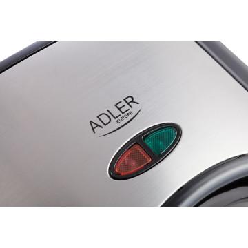 ADLER AD3015 Szendvicssütő, 750W, Inox