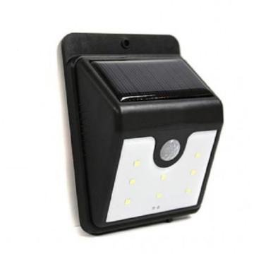 Napelemes mozgásérzékelős LED lámpa