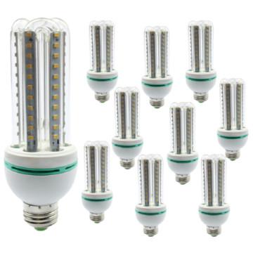 10 darab 12 Wattos LED izzó - Izzó csere csomag