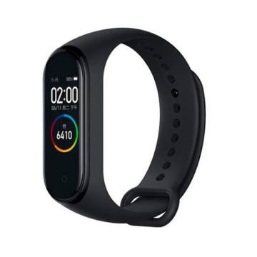Merystyle@M4  Smart Fitness okoskarkötő pulzus és vérnyomás mérővel - fekete színben