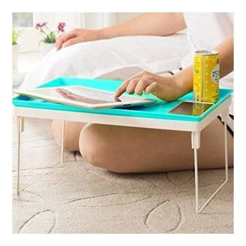 Összecsukható laptoptartó asztal  - Kék