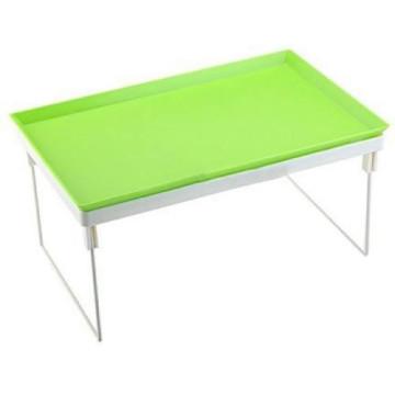 Összecsukható laptoptartó asztal  - Zöld