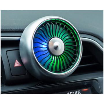Autós mini ventilátor USB-vel - Fekete színben - MS-124