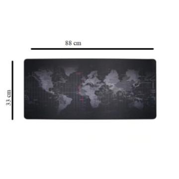 Nagyméretű egérpad - Világtérképpel - MS-129