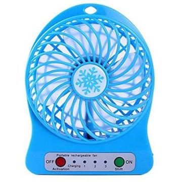 Merystyle@Akkumulátoros mini ventilátor - kék