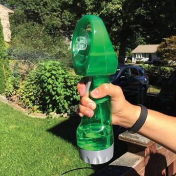 Hűsítő vízpára ventilátor - Zöld színben