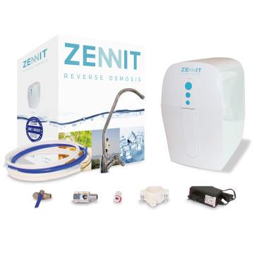 Puricom Zennit nyomásfokozó pumpával, tartályos 3 lépcsős, fordított ozmózis víztisztító készülék