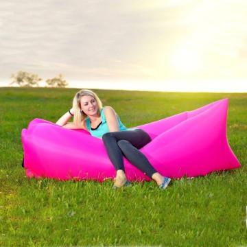 Lazy Bag levegővel tölthető matrac és kanapé, narancssárga