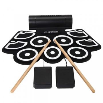 Profi hordozható - Elektromos dobfelszerelés basszus pedállal