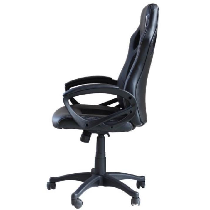 Párnázott maximális kényelemet nyújtó gamer szék - piros