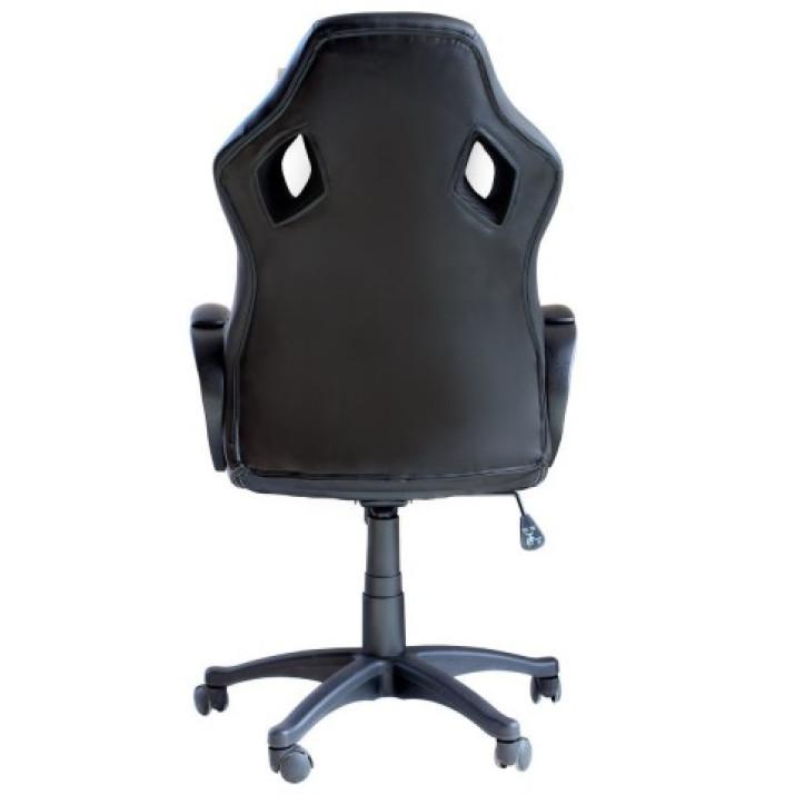 Párnázott maximális kényelemet nyújtó gamer szék - kék